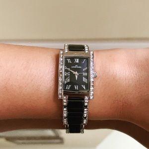 Anne Klein Swarovski Crystal Accent Watch